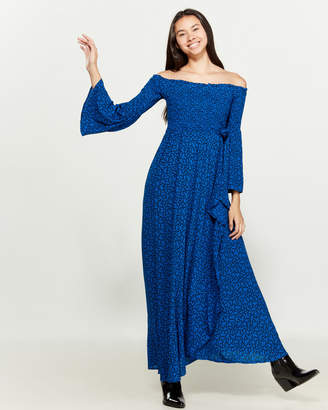 Band of Gypsies Bali Off-the-Shoulder Maxi Dress