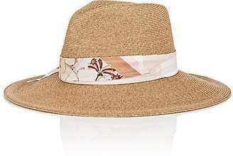 Albertus Swanepoel Women's Vanessa Toyo Straw Hat - Beige, Tan