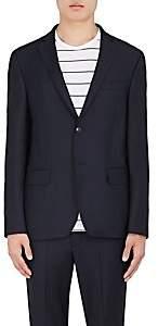 Officine Generale Men's Wool Twill Two-Button Sportcoat - Navy