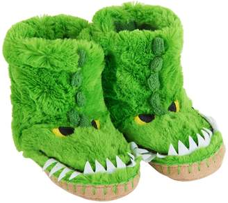 Hatley Little Boys' Kids Slouch Slipper-Gators