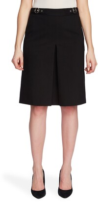 Chaus A-Line Inverted Pleat Skirt
