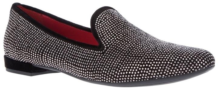 181 Contrast Stud Loafer