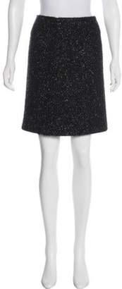 Simone Rocha Lurex Mini Skirt Black Lurex Mini Skirt