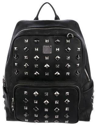 MCM Studded Visetos Backpack