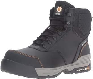 "Carhartt Men's 6"" Force Lightweight Waterproof Composite Toe Work Boot CMA6381"