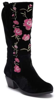 XOXO Mojave Embroidered Knee-High Boot (Little Kid & Big Kid)