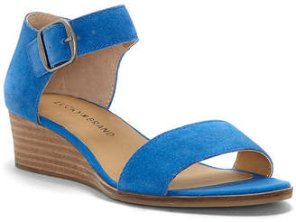 Lucky Brand Women's Riamsee Wedge Sandals Women's Shoes
