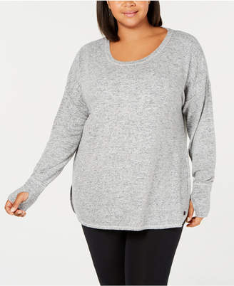 Ideology Plus Size Long-Sleeve T-Shirt
