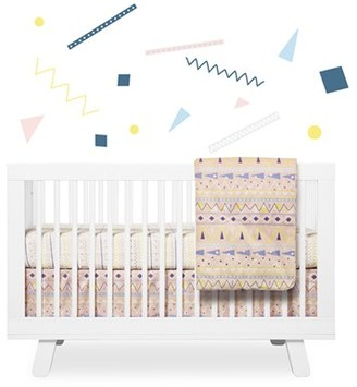 Babyletto 'Desert' Crib Sheet, Crib Skirt, Changing Pad Cover, Blanket & Wall Decals $129 thestylecure.com