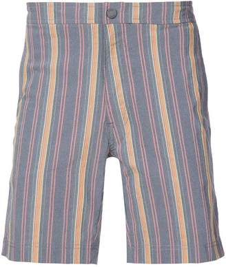 Onia Calder 7.5 striped swim trunks