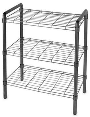 Delta Cycle Art of Storage 3-Tier Wire Shelving Storage Rack, Black