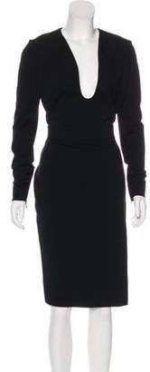 Tom Ford Asymmetrical Midi Dress