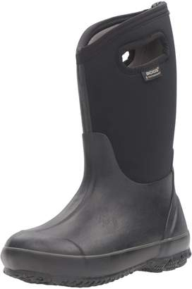 Bogs Children's Classic High Waterproof Winter Boot Black 10 M US