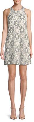 Rachel Roy Floral Lace Shift Dress