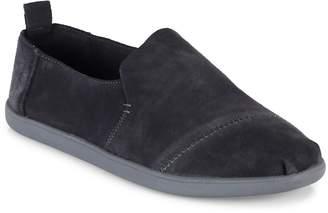 Toms Men's Alpargartas Deconstructed Suede Slip-On Sneakers