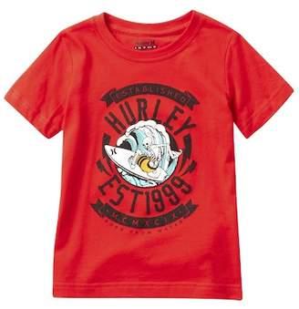 Hurley Shredding Tee (Little Boys)