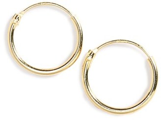 Girl's Tomas Sterling Silver Endless Hoop Earrings $12 thestylecure.com