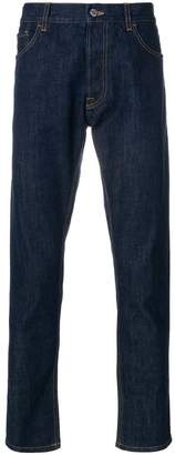 Prada tapered cropped jeans