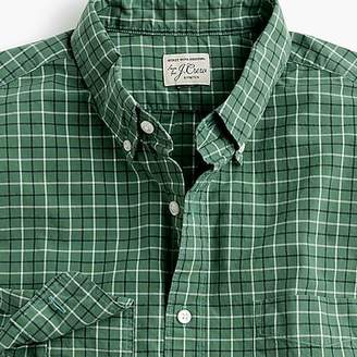 J.Crew Stretch Secret Wash shirt in tattersall