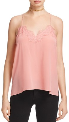 CAMI NYC The Racer Silk Cami $147 thestylecure.com