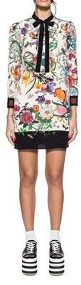Gucci Women's Multicolor Silk Dress.