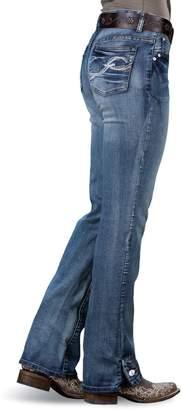 Rod's Exclusive Button Leg Jean, 11W x 34L