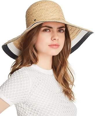 Kate Spade Color-Block Detail Sun Hat