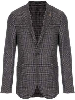 Lardini classic fitted blazer