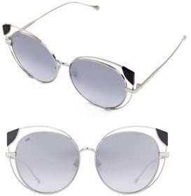 Cat Eye For Art's Sake 57MM Skylar Cateye Sunglasses