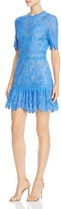 Saylor Scalloped Lace Dress
