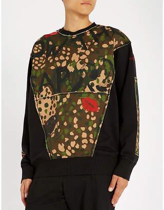 Vivienne Westwood Camouflage-print cotton-jersey sweatshirt
