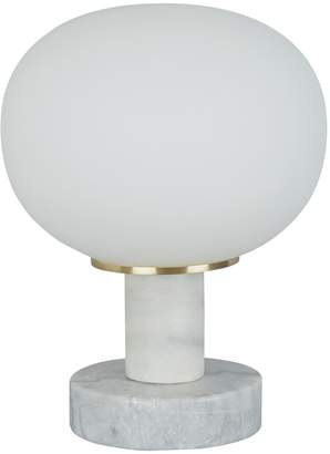 Kuriko Marble and glass table lamp