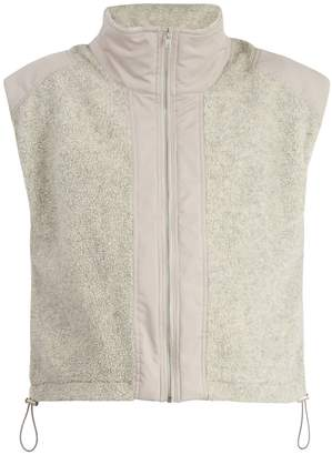 GMBH Mathis Technical contrast-paneled wool-blend gilet