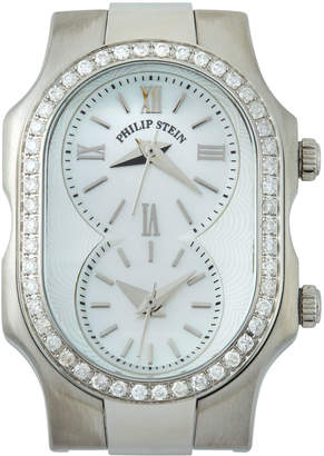 Philip Stein Teslar Signature Diamond Dual Dial Watch Head