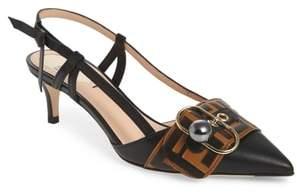 Fendi Pearland Slingback Sandal