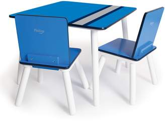 P'kolino Children's Table and Chairs in Racing Stripes