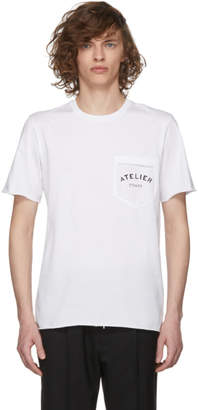 Maison Margiela White Atelier Pocket T-Shirt
