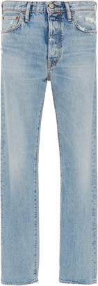 Acne Studios 1996 High-Rise Straight-Leg Jeans