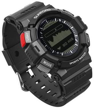 SUNROAD Sunroad FR9211B Outdoor Sport Smart Watch, Black