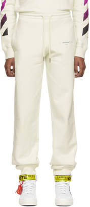 Off-White Off White White Gradient Lounge Pants