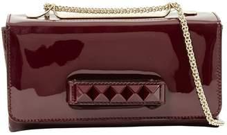 Valentino Vavavoom Burgundy Patent leather Handbag
