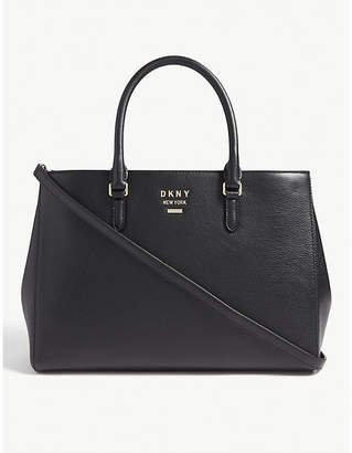 DKNY Whitney leather work tote