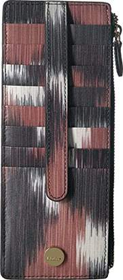 Lodis Boho Credit Card Case with Zipper Pocket