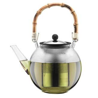 Bodum Assam 1L Teapot with Bamboo Handle