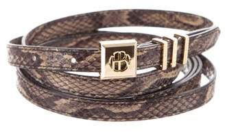 Henri Bendel Animal Print Wrap Belt