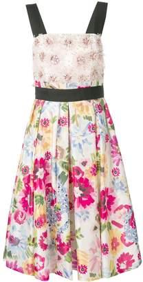 Escada floral-print dress