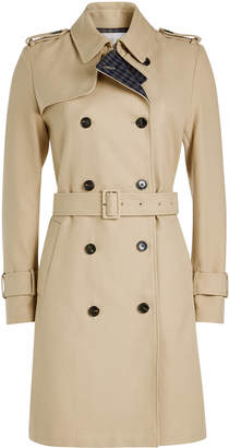 Closed Planet Trench Coat