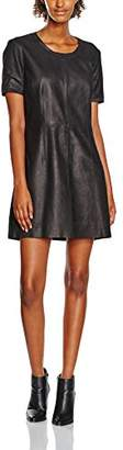 Muu Baa Muubaa Women's Black Mini Dress,(Manufacturer Size:38)