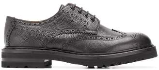 Henderson Baracco lace-up perforated brogues