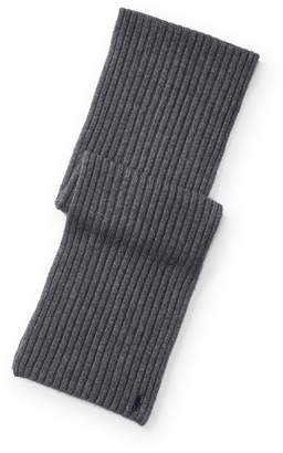 Ralph Lauren Wide-Rib Cashmere-Wool Scarf